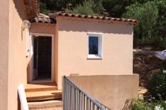 Agrandissement maison ossature bois à La Londe Var Paca(4)