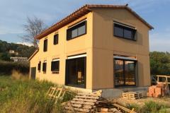 Maison ossature bois à Le Val