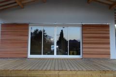 Maison ossature bois sur pilotis réalisée à Barjols var PACA (2)