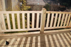 balcon suspendu à Esparon réalisation OSSBOIS