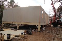 Maison ossature bois chantier en cours de construction st maximin (2)