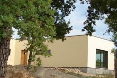 Maison ossature bois individuelle contemporaine ossature bois à toit plat