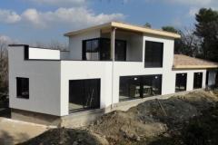 Maison en ossature bois type MBOC, ITE à Cadolive dans les Bouches du Rhône (1)