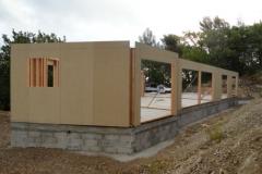Maison en ossature bois type MBOC, ITE à Cadolive dans les Bouches du Rhône (3)