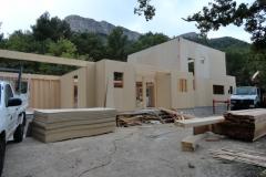 Maison en ossature bois type MBOC, ITE à Cadolive dans les Bouches du Rhône (4)