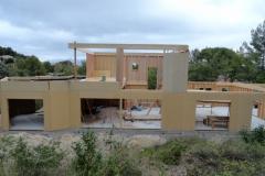 Maison en ossature bois type MBOC, ITE à Cadolive dans les Bouches du Rhône (6)