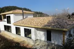 Maison en ossature bois type MBOC, ITE à Cadolive dans les Bouches du Rhône (8)