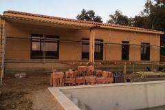 maison ossature bois contemporaine avec bardage red cedar et enduit menuiseries aluminium terrasse (10)