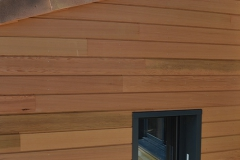 maison ossature bois contemporaine avec bardage red cedar et enduit menuiseries aluminium terrasse (11)