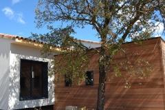 maison ossature bois contemporaine avec bardage red cedar et enduit menuiseries aluminium terrasse (14)