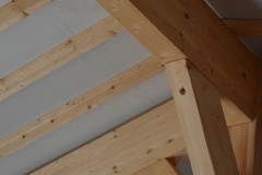 maison ossature bois contemporaine avec bardage red cedar et enduit menuiseries aluminium terrasse (16)