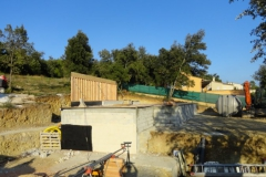 maison ossature bois contemporaine avec bardage red cedar et enduit menuiseries aluminium terrasse (3)