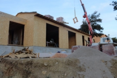 maison ossature bois contemporaine avec bardage red cedar et enduit menuiseries aluminium terrasse (7)