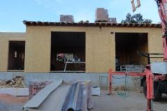 maison ossature bois contemporaine avec bardage red cedar et enduit menuiseries aluminium terrasse (8)