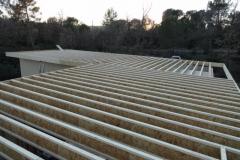 maison à ossature bois contemporaine à toit plat à BRIGNOLES DANS LE VAR REGION PACA (33)