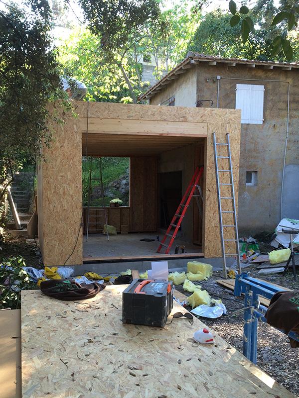 Agrandissement ossature bois avec facade bardage marseille (8)