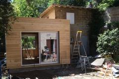 Agrandissement ossature bois avec facade bardage marseille (9)