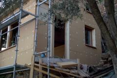 Agrandissement en ossature bois de type construtif MBOC d'une maison individuelle a COTIGNAC dans le VAR 83 region PACA (1)