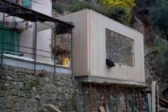 Agrandissement en ossature bois de type construtif MBOC d'une maison individuelle a COTIGNAC dans le VAR 83 region PACA (10)