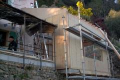 Agrandissement en ossature bois de type construtif MBOC d'une maison individuelle a COTIGNAC dans le VAR 83 region PACA (2)