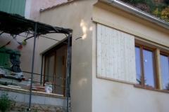 Agrandissement en ossature bois de type construtif MBOC d'une maison individuelle a COTIGNAC dans le VAR 83 region PACA (8)