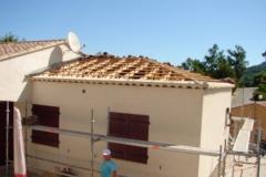 Rehausse de maison en ossature bois basse consommation BBC BRAS VAR 83 PACA
