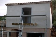 Construction d'une rehausse ossature bois sur maison traditionnelle à Bras 83