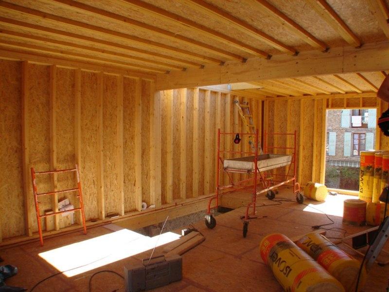rehausse maison ossature bois la cause principale qui a abouti une surlvation de la maison est. Black Bedroom Furniture Sets. Home Design Ideas