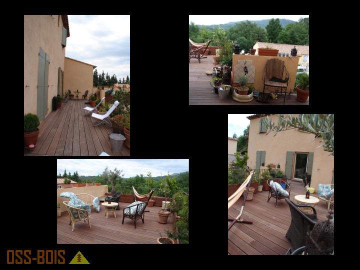 terrasses bois différentes essences