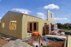 Construction maison en ossature bois avec isolation extérieure à Le Luc dans le Var (1)