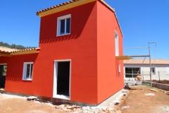 Construction maison ossature bois avec isolation extérieure à Le Luc dans le Var (4)
