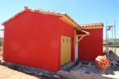 Construction maison ossature bois avec isolation extérieure à Le Luc dans le Var (6)