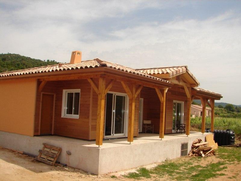 Maison en bois arcachon villa proche de la source des for Arcachon location maison