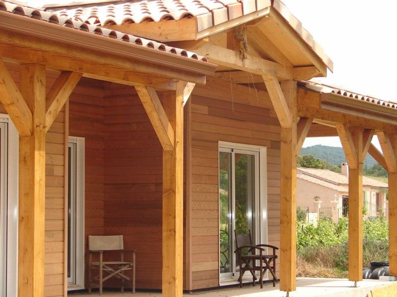 Maison Ossature Bois Paca -