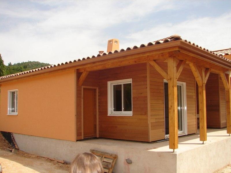 r alisations de maison traditionnelle en bois en paca. Black Bedroom Furniture Sets. Home Design Ideas