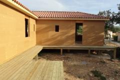 Maison à ossature bois RT 2012, isolation extérieure, à Rocbaron dans le Var (3)