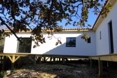 Maison à ossature bois RT 2012, isolation extérieure, à Rocbaron dans le Var (5)