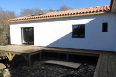 Maison à ossature bois RT 2012, isolation extérieure, à Rocbaron dans le Var (6)