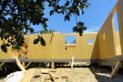 Maison à ossature bois RT 2012, isolation extérieure, à Rocbaron dans le Var (7)