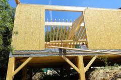 Maison à ossature bois RT 2012, isolation extérieure, à Rocbaron dans le Var (8)