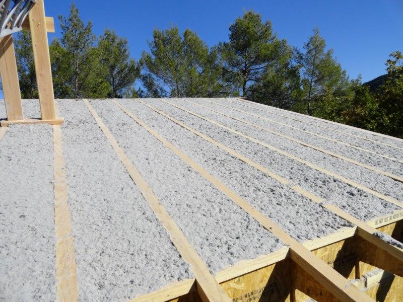 construction maison ossature bois à bras