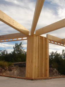 Maison bois, ossature bois