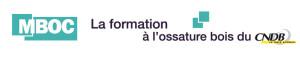logo mboc cndb pour maison ossature bois