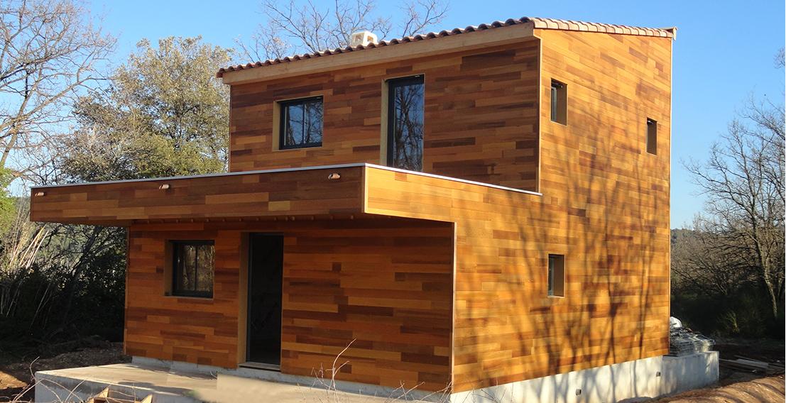 construction de maison en bois var et alpes maritimes oss bois. Black Bedroom Furniture Sets. Home Design Ideas